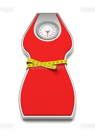 体重計(女性用)のイラスト素材 [FYI03816775]