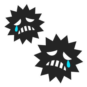 弱るウイルスのイラスト素材 [FYI03816820]