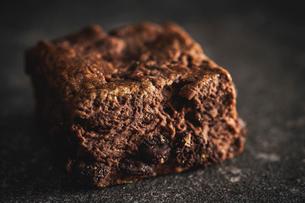 チョコレートブラウニーの写真素材 [FYI03816945]
