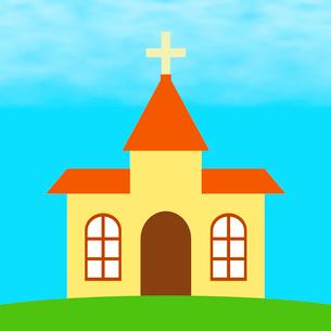 教会のイラスト素材 [FYI03817140]