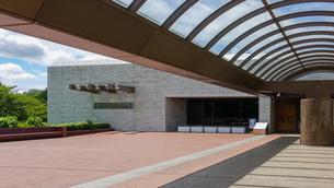 国立歴史民俗博物館の玄関の写真素材 [FYI03817232]