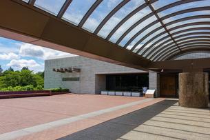 国立歴史民俗博物館の玄関の写真素材 [FYI03817235]