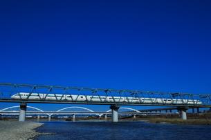 小田急ロマンスカーVSE(コピースペース有り)の写真素材 [FYI03817759]