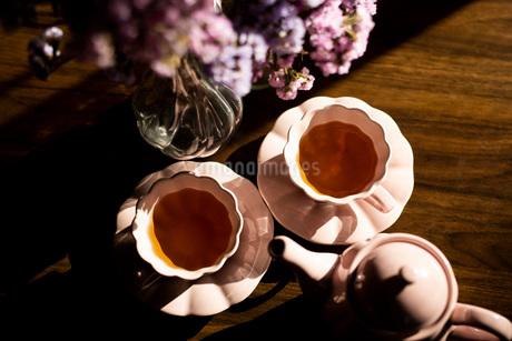 紅茶 ティータイムの写真素材 [FYI03818095]