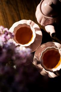 紅茶 ティータイムの写真素材 [FYI03818102]