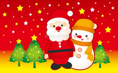 クリスマスのイラスト素材 [FYI03820141]