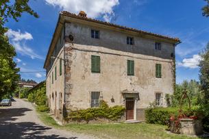 イタリア、トスカーナの風景の写真素材 [FYI03820283]