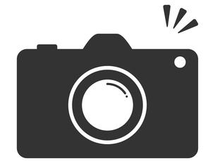 可愛いカメラのイラストのイラスト素材 [FYI03820429]