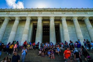 リンカーンメモリアル・リンカーン記念館の写真素材 [FYI03820946]