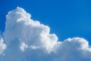 夏の入道雲と青空の写真素材 [FYI03820965]