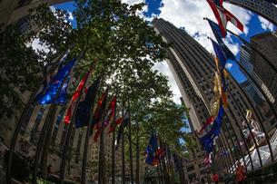 ロックフェラーセンターのイメージ(ニューヨーク)の写真素材 [FYI03821000]