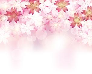 桜 春 背景のイラスト素材 [FYI03821044]