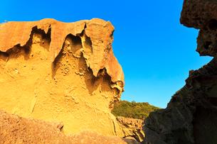 世界遺産熊野古道 鬼ヶ城の写真素材 [FYI03821179]