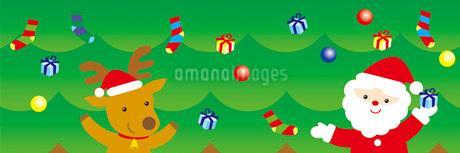 クリスマスのイラスト素材 [FYI03821243]