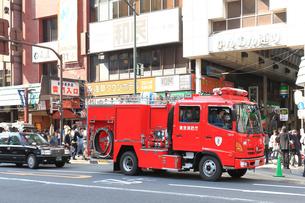 消防車の写真素材 [FYI03821255]