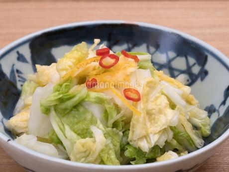 白菜の浅漬けの写真素材 [FYI03821592]