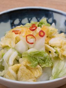白菜の浅漬けの写真素材 [FYI03821593]