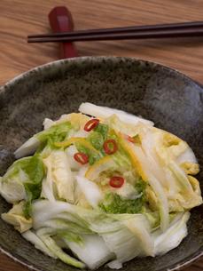 白菜の浅漬けの写真素材 [FYI03821599]