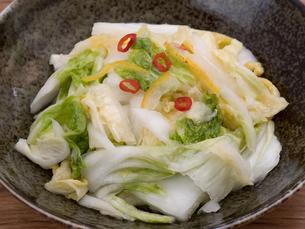 白菜の浅漬けの写真素材 [FYI03821602]