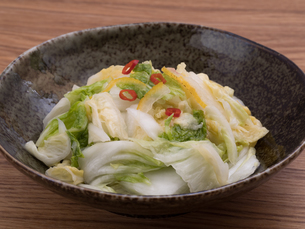 白菜の浅漬けの写真素材 [FYI03821606]