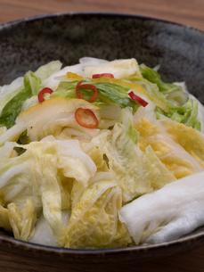 白菜の浅漬けの写真素材 [FYI03821608]