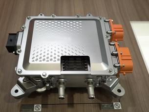 EV用インバーターのカットモデルの写真素材 [FYI03821666]