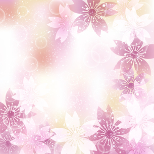 桜 春 背景のイラスト素材 [FYI03822062]