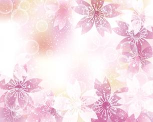 桜 春 背景のイラスト素材 [FYI03822539]