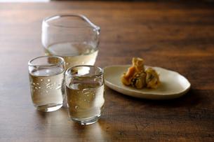 日本酒の写真素材 [FYI03822571]