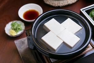 湯豆腐の写真素材 [FYI03823157]
