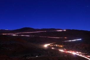 マウナケア山頂への写真素材 [FYI03823567]