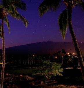 ハワイ島 南十字星の写真素材 [FYI03823568]
