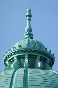 表慶館のドームの尖塔(東京国立博物館)の写真素材 [FYI03823639]