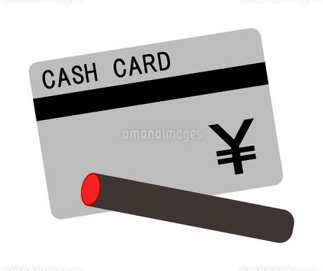 カードとハンコのイラスト素材 [FYI03823776]