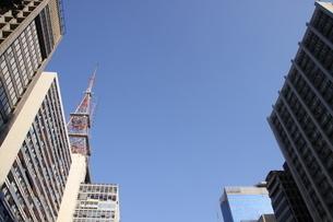 サンパウロのビジネス街の写真素材 [FYI03823863]