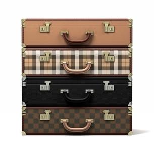 4つの鞄のイラスト素材 [FYI03823876]