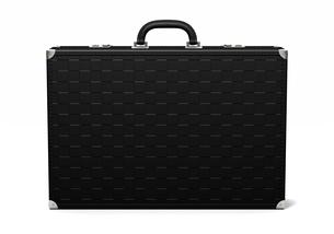 黒い鞄のイラスト素材 [FYI03823877]