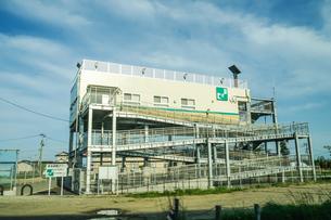 津波避難タワー(宮城県仙台市)の写真素材 [FYI03824512]