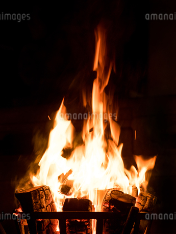 篝火の写真素材 [FYI03824735]