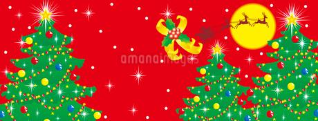 クリスマスのイラスト素材 [FYI03825327]