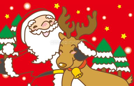 クリスマスのイラスト素材 [FYI03825328]