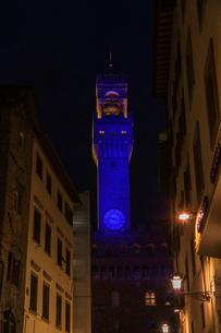 イタリア、フィレンツェ旧市街の写真素材 [FYI03825369]
