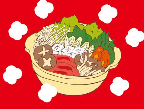 お鍋のイラスト素材 [FYI03826611]