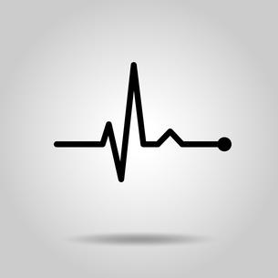 心電図リズムのイラスト素材 [FYI03826654]