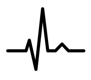 心電図リズムのイラスト素材 [FYI03826656]