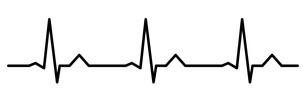 心電図のイラスト素材 [FYI03826657]