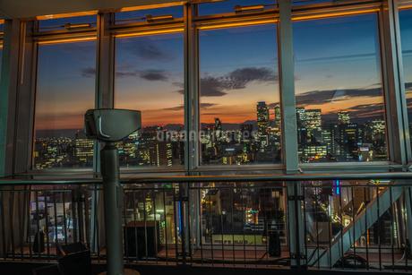 名古屋テレビ塔の展望台の写真素材 [FYI03827110]