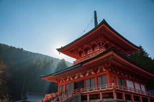比叡山 東塔の写真素材 [FYI03827715]