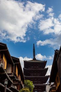 八坂の塔の写真素材 [FYI03827719]