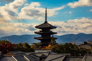八坂の塔の写真素材 [FYI03827724]